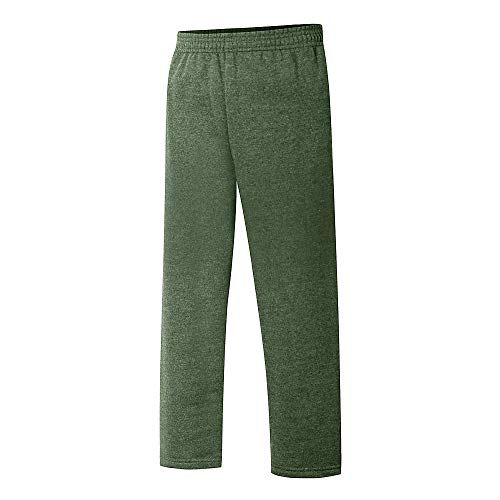 Hanes Boys Open Leg Sweatpants (D097) -Camouflage -S