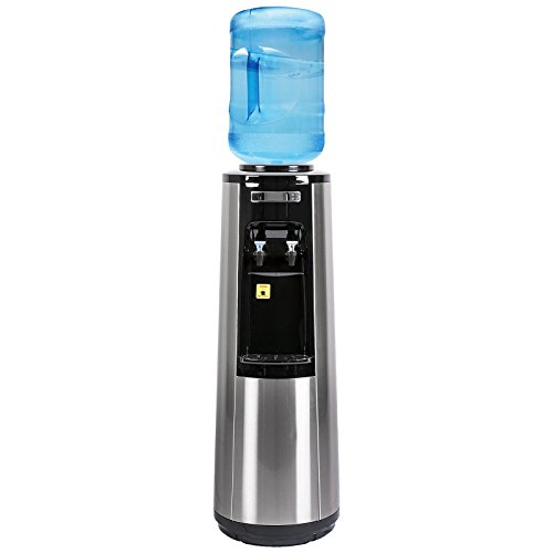Magic Mountain's Stainless Steel Water Pyramid Series, Room-Temp & Cold Bottle Water Dispenser by MMWP-805-WTG-HQ