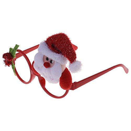 BCP Christmas eyeglass Costume Eye Frame Christmas Favors Gifts For Christmas Party Decoration - World Eyeglass Girl
