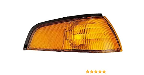 Eagle Eyes CS059-U000L Jeep Driver Side Park//Signal Lamp Lens and Housing