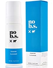NO B. S. NO BAD STUFF Foaming Cleanser - Natural Face Wash For Women - Fresh Facial Cleanser For Women Is Great For Daily Use And Acnefree Face Wash
