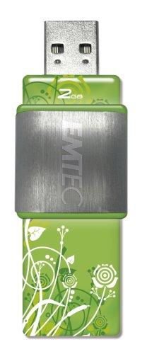 EMTEC LaFleur Flash Drive Green