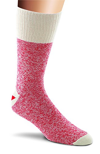 Fox River Original Rockford Red Heel Lightweight Monkey Socks (2 Pack), PINK, Large -