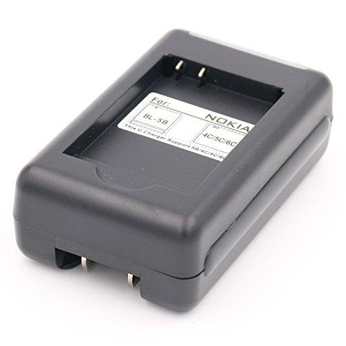 BL-5B BL5B Battery Charger for VIVITAR ViviCam 8027 8225 T328 3220 DVR-805HD DVR-850W