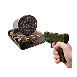Berkshire Gun Alarm Clock Shooting Game