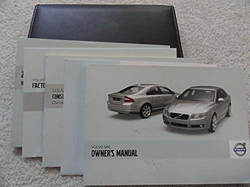 2009 volvo s80 s 80 owners manual volvo amazon com books rh amazon com owners manual for 2006 volvo s80 user manual volvo s80