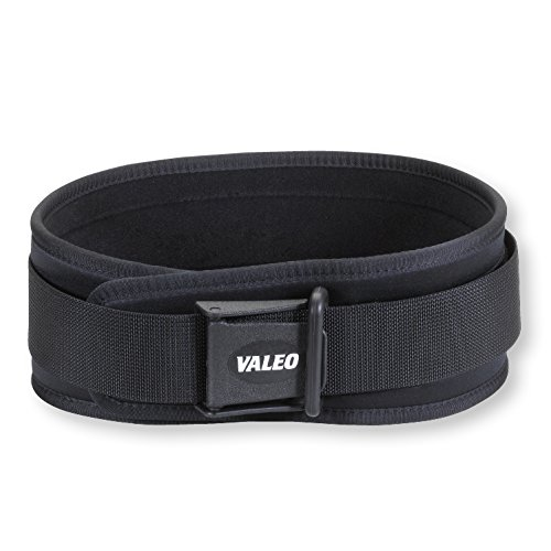 Valeo VCL Competition Classic 6-Inch Lifting Belt With Softly Bound Edges, Brushed Tricot Lining, Rugged Outer Shell, And Washable Belt