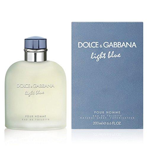 Spray Edt D&g Light Blue (DOLCE&GABBANA Light Blue Pour Homme Eau de Toilette Spray, 6.7 oz.)