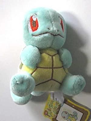 Pokemon Center Canvas Plush - Squirtlezenigame by Pokemon Center