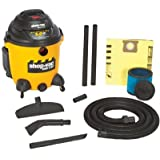 Shop Vac The Right Stuff Series Industrial Wet/Dry Vacuums, 12 gal, 5 hp