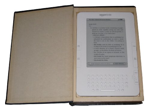 Kindle case - Carry your Kindle hidden inside a real book - Kindle cover