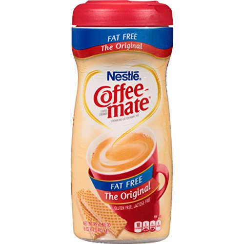 Coffee-mate Coffee Creamer Fat Free Original, Pack of 12 (16 Ounce)
