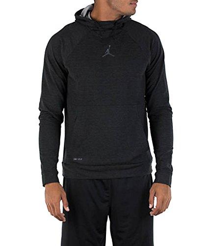 Nike Mens Jordan Tech Sphere 23 Pullover Hoodie Black/Anthracite 897568-010 Size X-Large by Jordan