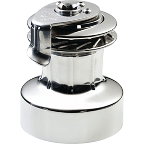 ANDERSEN 28 ST FS - 2-Speed Self-Tailing Manual Winch - Full Stainless Steel Marine , Boating Equipment - Self Tailing Two Speed Winch