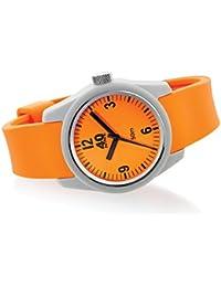 Women's 'BASIC' Quartz Plastic and Silicone Casual Watch, Color:Orange (Model: 40N2.3L)