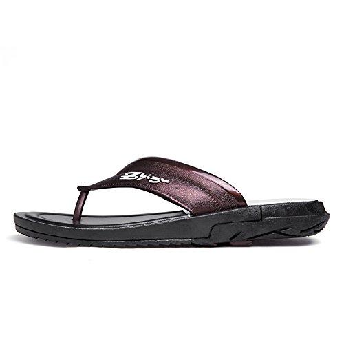 shoes classico 44 Scarpe con uomo Sandalo infradito Jiuyue da Dimensione EU Marrone Marrone infradito uomo infradito da Color dqtFzZ