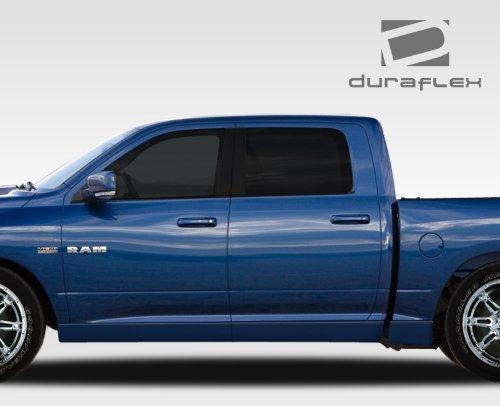 Duraflex Replacement for 2009-2018 Dodge Ram Quad Cab MP-R Side Skirts Rocker Panels - 6 Piece