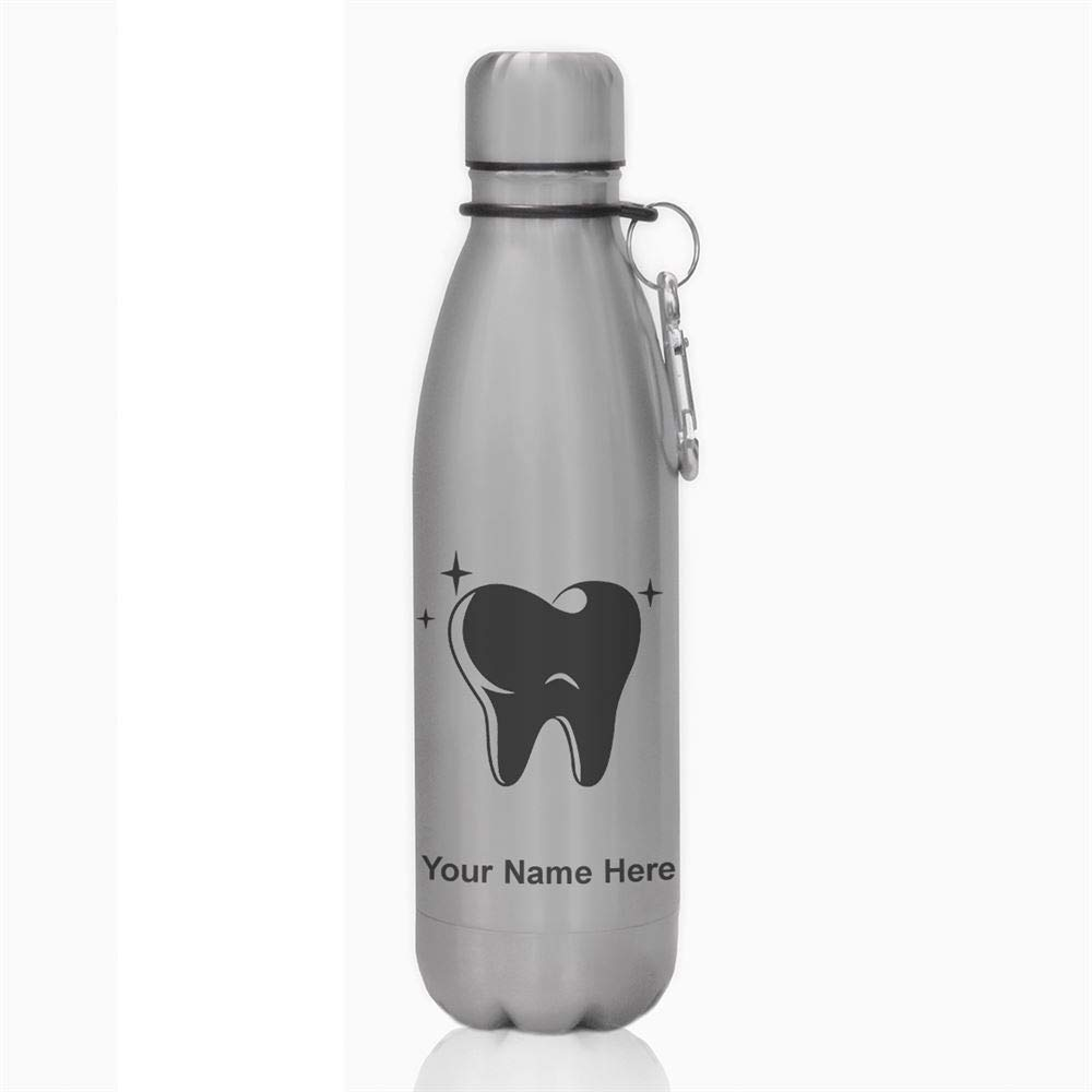 水ボトル – Tooth – カスタマイズ彫刻含ま B06WWQ1K2T