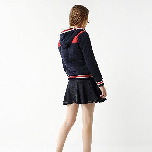 Baseball Xxl Donna Invernale Trend's Da B colore Giacca Taglia A Cottoncoat Jacket vp5xqFtwF