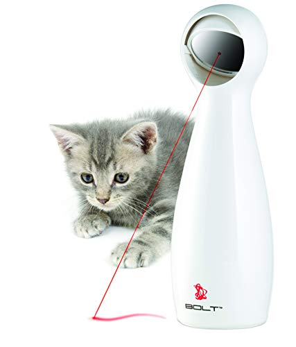 PetSafe Bolt Laser Cat Toy, Automatic Laser Cat Toy
