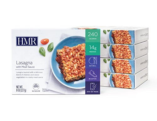 HMR Lasagna with Meat Sauce Entree, 8 oz. servings, 5 count by HMR