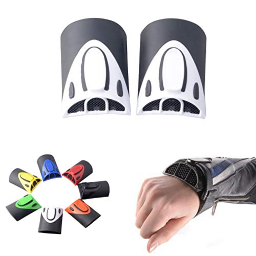 Goldfire 1 Pair Universal Cooling Arm Sleeves Accessories Motorcycle Cooling System Jacket Sleeve Vent for Summer Warm Weather (White) - Motorcycle Cooling System