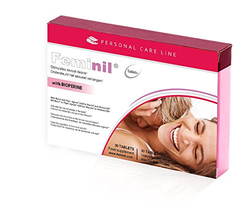 1 Box Feminil Female Libido Enhancement Booster & Natural Sex Drive Supplement