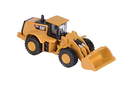 Toy State Caterpillar Metal Machines 980K Wheel Loader Diecast Vehicle (Styles May Vary) from Toystate