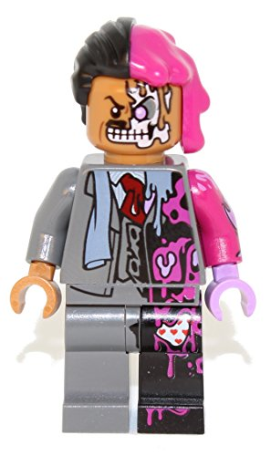 LEGO Batman Movie: Two Face (Harvey Dent) Minifigure