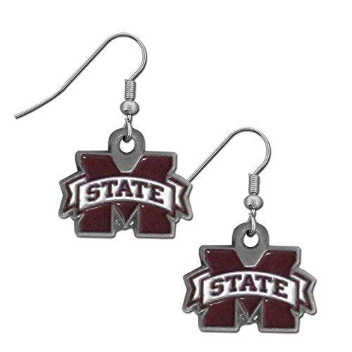 NCAA Mississippi State Bulldogs Dangle Earrings
