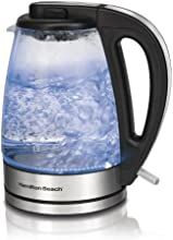 Hamilton Beach 40865C 1.7-Liter Glass Kettle