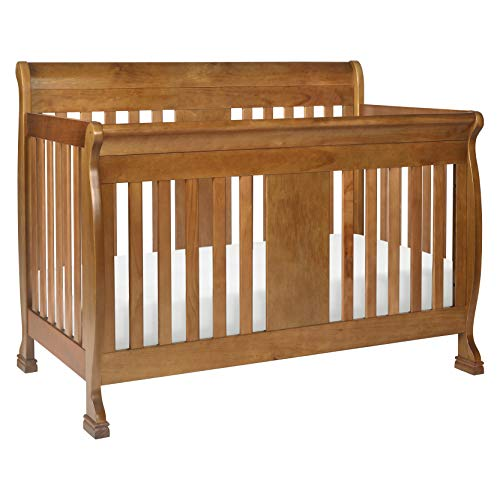 - DaVinci Porter 4-in-1 Convertible Crib with Toddler Bed Conversion Kit, Chestnut