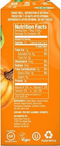 upc 868408000295 product image for nutpods Pumpkin Spice Creamer 12-pack. Whole 30, Dairy-Free, Zero Grams Sugar Per Serving. Vegan, Non-GMO, Keto, Paleo