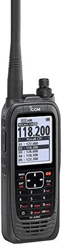 ICOM A25C Handheld Airband Radio – Communication Channels Only