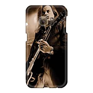 Anti-Scratch Hard Phone Cover For Samsung Galaxy S6 With Allow Personal Design Fashion Helloween Band Pattern TimeaJoyce