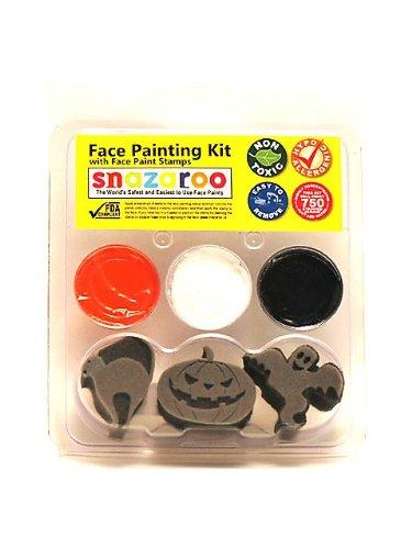 Snazaroo SZPALEHAL1 Halloween Face Paint 1 Stamp (Halloween Face Painting Designs Ghost)