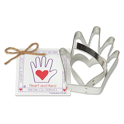 Heart Hand Cookie Fondant Cutter product image