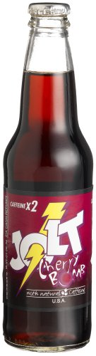"""Jolt CHERRY BOMB LONGNECKS -  """"It's a war out there!"""", 12-Ounce Glass Bottle (Pack of 12)"""