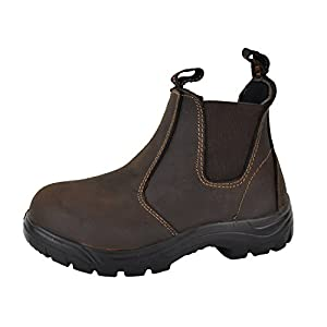 Tiger Safety Women's Lightweight CSA Leather Work Safety Boots - 925