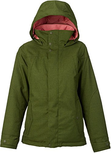 Burton Women's Jet Set Jacket, Rifle Green, Small by Burton