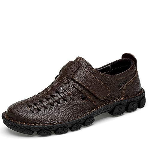 shoes Hombre Marrón Sandalias Para Sry Papel Vestir De Sq5dnd8