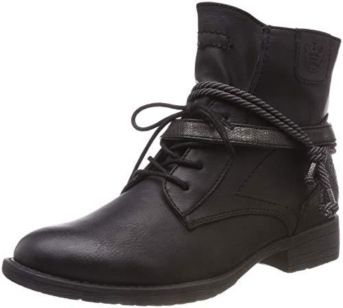 Botines 25208 black Softline Femme 001 21 Noir z6wUUEvpq