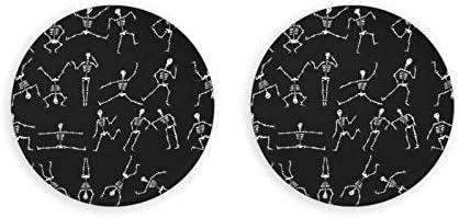Abrebotellas, abridor de vino, imanes de nevera, patrón de bailarina esqueleto, abridor de botellas con una sola mano, sacacorchos, 2 piezas