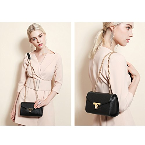Small JIUTE D package Square C Female Oblique Leather Version PU Of Color Korean Package Chain The zzvwnqZrU