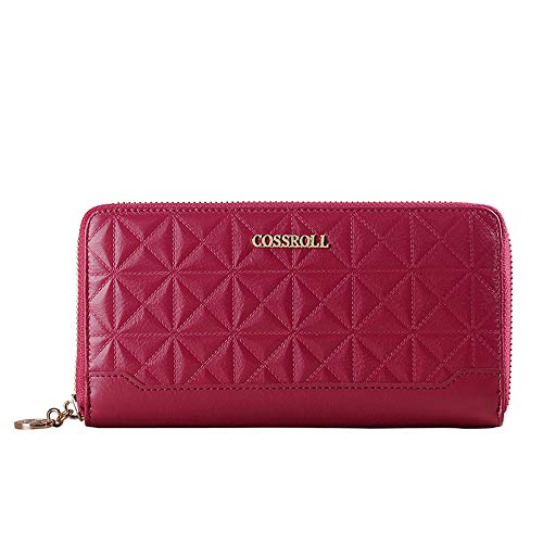 Color Sport Series Blue And Around Women's Zipper rabbit Purse Lovely Leisure Red Rose AXqExzwF