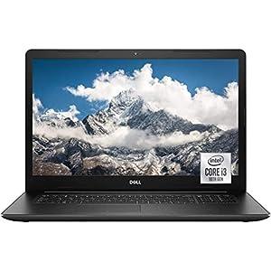 "2021 Newest Dell Inspiron 3000 Series 17.3"" FHD Laptop, 10th Gen Intel Core i3-1005G1 , 8GB Memory, 1TB Hard Disk Drive, Wi-Fi, HDMI, DVD-RW, Webcam, Windows 10 Home, Black + Oydisen Cloth"