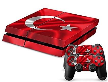 Turkey 3 Motiv Video Games & Consoles Sony Ps4 Playstation 4 Skin Design Aufkleber Schutzfolie Set Video Game Accessories
