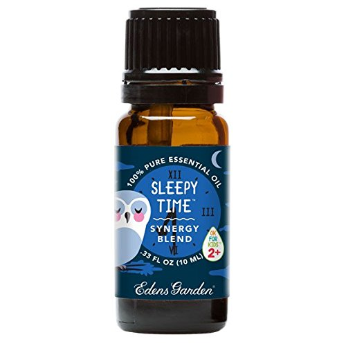 Sleepy-Time-OK-For-Kids-Synergy-Blend-Essential-Oil-by-Edens-Garden-Lavender-Cedarwood-Frankincense-Tangerine-Petitgrain-Ylang-Ylang-Sweet-Marjoram-and-Roman-Chamomile