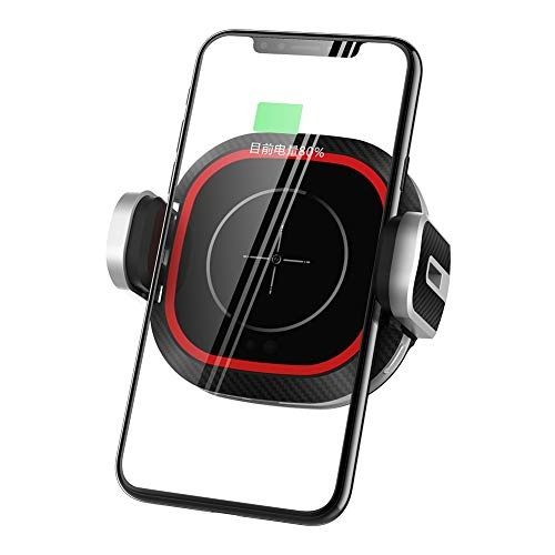 VM1 Universal Car Air Vent Wireless Charger Phone Stand Holder Mount Bracket