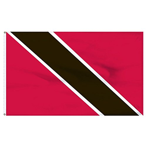 (ALBATROS 3 ft x 5 ft Trinidad and Tobago Premium Flag Banner Grommets Super Polyester for Home and Parades, Official Party, All Weather Indoors Outdoors)